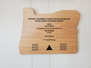 APAO Award for Best Small/Residential project