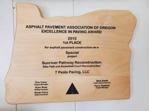 APAO Paving Award